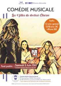 Comédie musicale : Les 4 filles du docteur Charm @ conservatoire Maurice Ravel