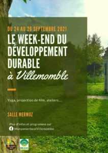 Week-end développement durable @ Médiathèque Robert Calméjane