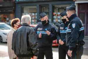 Stand rencontre avec la police municipale @ Marché de l'Époque