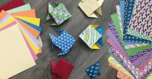 Petit salon du mardi - origami @ Médiathèque Robert Calméjane